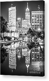 Canal Walk Acrylic Prints