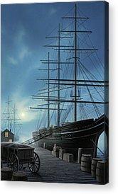 Tall Ships Acrylic Prints