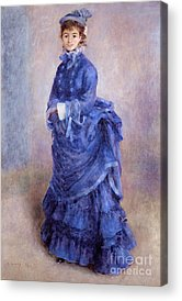 Blue Dress Acrylic Prints