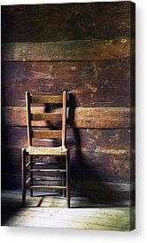 Ladderback Chair Photographs Acrylic Prints