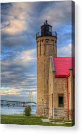 Michigan Mackinac Acrylic Prints