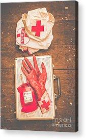 Bandage Acrylic Prints