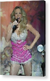 Mariah Carey Acrylic Prints