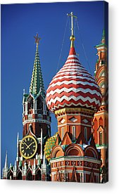 Moscow Acrylic Prints