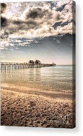Naples Beach Acrylic Prints