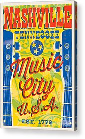 Nashville Tennessee Acrylic Prints