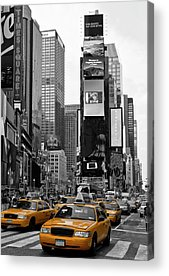 Traffic Acrylic Prints