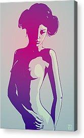 Nude Acrylic Prints