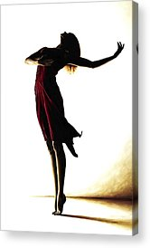 Shadow Dancing Paintings Acrylic Prints