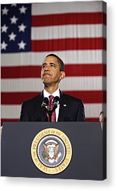 Barack Obama Photographs Acrylic Prints