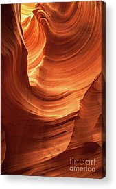 Martin Williams Slot Canyon Acrylic Prints