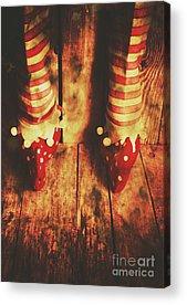 Elf Acrylic Prints