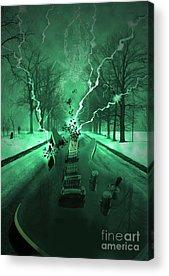 Band Digital Art Acrylic Prints
