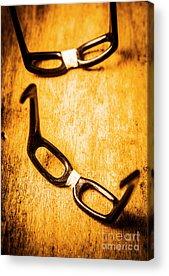 Optometrist Acrylic Prints
