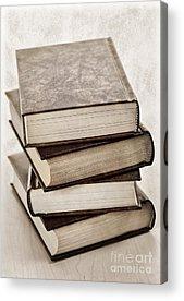Book Photographs Acrylic Prints