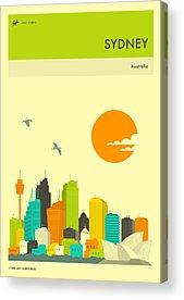 Sydney Skyline Acrylic Prints