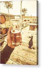 Wine Tour Acrylic Prints