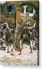 Masochism Paintings Acrylic Prints
