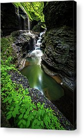 Glen Acrylic Prints
