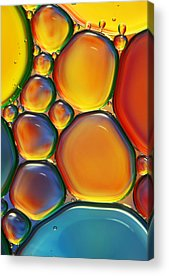 Bubbles Acrylic Prints