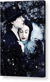 Wintry Digital Art Acrylic Prints