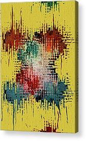Contemporary Abstract Mixed Media Acrylic Prints