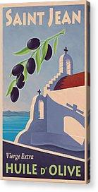 Olive Oil Acrylic Prints