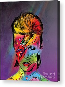 David Bowie Acrylic Prints