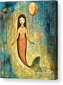 Little Mermaid Acrylic Prints