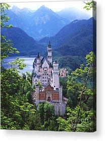 Schloss Acrylic Prints