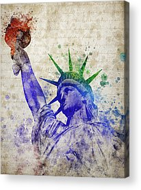 New York Harbor Acrylic Prints