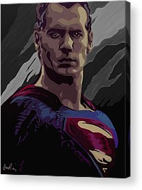Kal-el Paintings Acrylic Prints