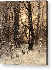 Wintry Acrylic Prints