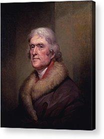 Thomas Jefferson Acrylic Prints