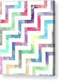 Abstract Digital Drawings Acrylic Prints
