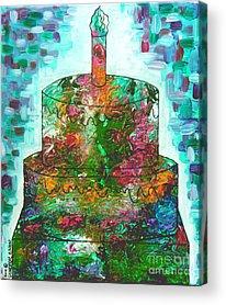Decoupage Acrylic Prints