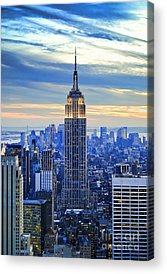 Big Cities Acrylic Prints