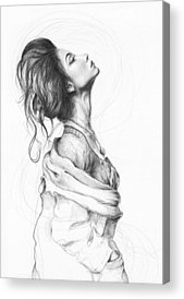 Pencil Drawings Acrylic Prints