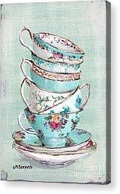 Tea Rose Acrylic Prints