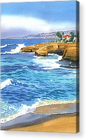 Cliff Acrylic Prints