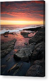 Ocean Sunset Acrylic Prints