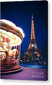 Paris Night Acrylic Prints