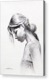 Faith Drawings Acrylic Prints
