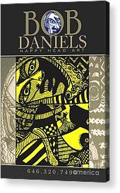 Robert Daniels Digital Art Acrylic Prints