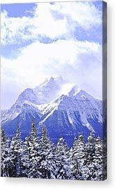 Snowy Mountain Acrylic Prints