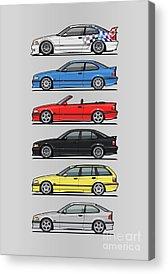 Automotive Art Series Acrylic Prints