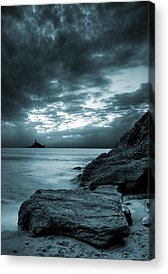 Shore Digital Art Acrylic Prints