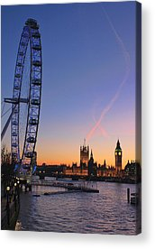 City Of London Acrylic Prints
