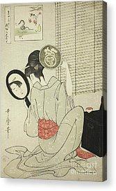 Concubine Drawings Acrylic Prints