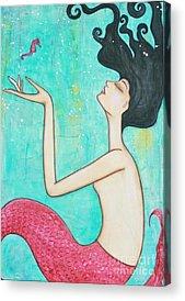 Seahorse Acrylic Prints